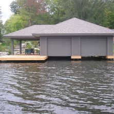 Single story Boathouse